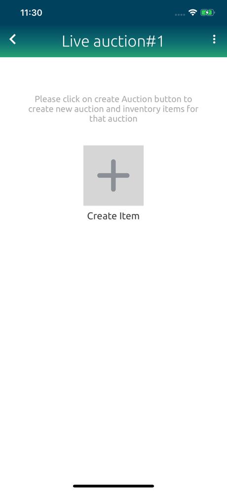 Maxanet App Create Item